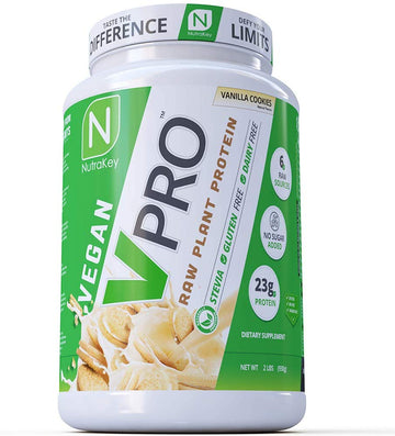 NutraKey - VPro Raw Plant Protein (2lbs)