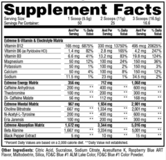 Metabolic Nutrition - E.S.P. Extreme