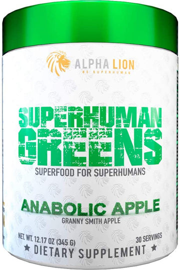 Alpha Lion - SuperHuman Greens (30 Serv)