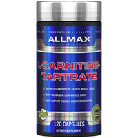 Allmax Nutrition - L-Carnitine + Tartrate (120Caps)