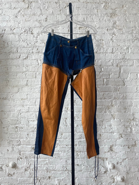 Christian Dior zip pants