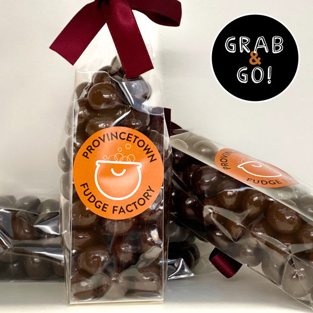 Dark Chocolate Covered Cranberries: Grab & Go