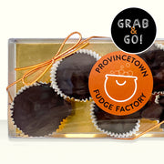 Petite Dark Chocolate Raisin Cups: Grab & Go