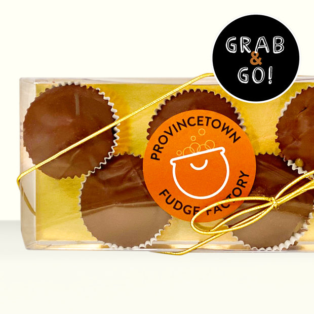 Petite Milk Chocolate Sea Salt Caramel Cups: Grab & Go