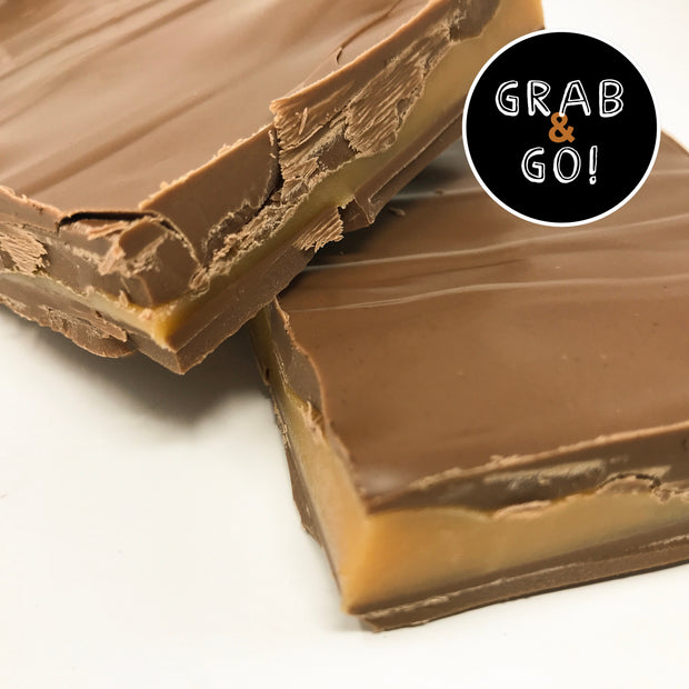 Milk Chocolate Sea Salt Caramel Bark: Grab & Go