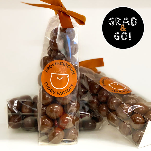 Milk Chocolate Sea Salt Malted Milk Balls: Grab & Go