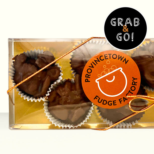 Petite Milk Chocolate Raisin Cups: Grab & Go