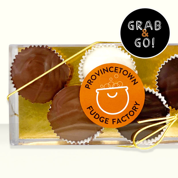 Petite Chocolate Salted Caramel Cups Mix: Grab & Go