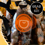 Dark Chocolate Orange Peel Bits: Grab & Go