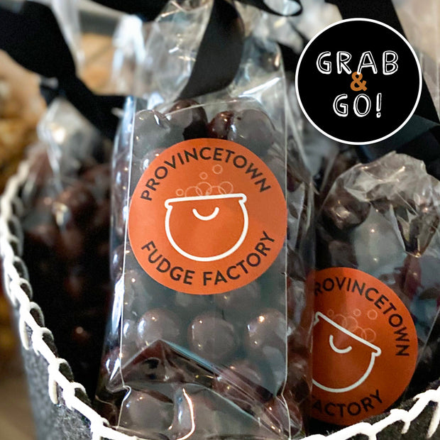 Dark Chocolate Sea Salt Caramels: Grab & Go