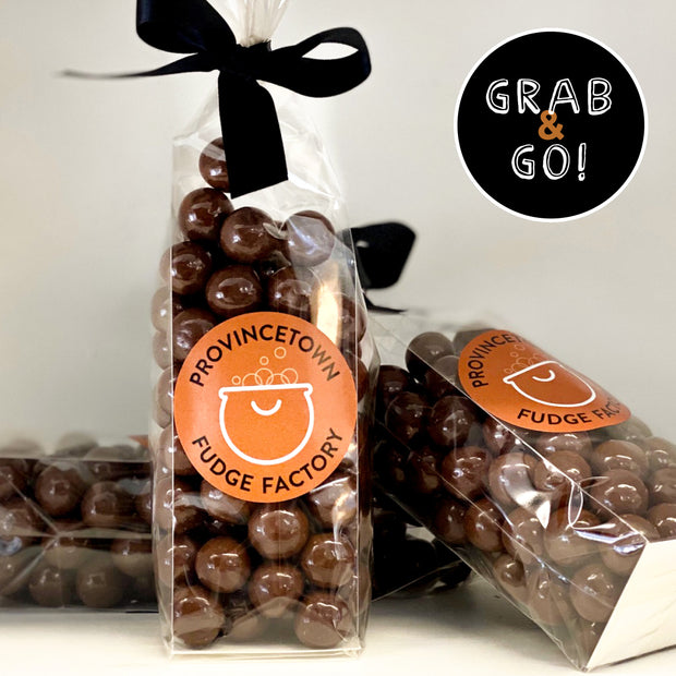 Milk Chocolate Sea Salt Caramels: Grab & Go