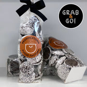 Dark Chocolate Large Nonpareils White: Grab & Go