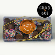Milk Chocolate Small Nonpareils Rainbow: Grab & Go