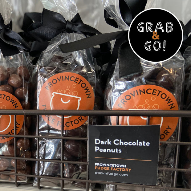 Dark Chocolate Peanuts: Grab & Go