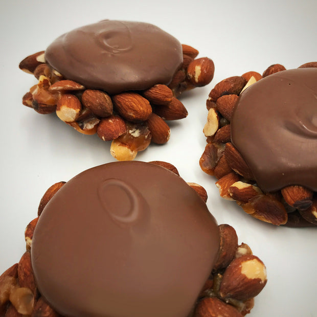 Milk Chocolate Almond Turtles