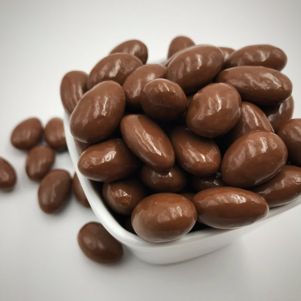 Milk Chocolate Covered Almonds: Grab & Go