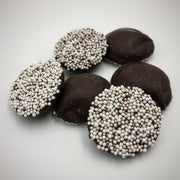 Dark Chocolate Small Nonpareils White