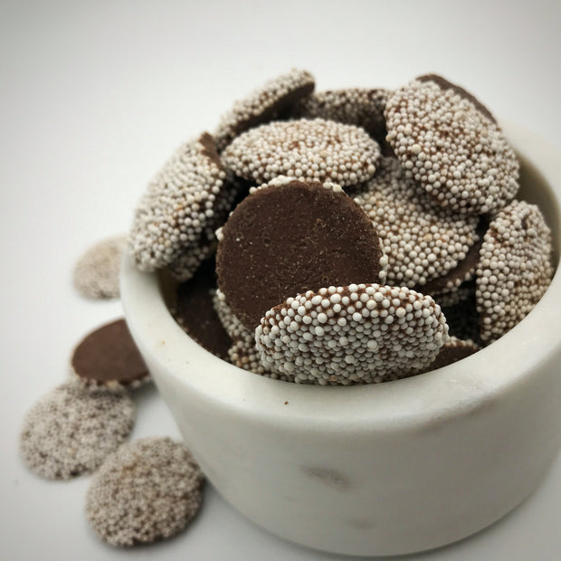 Milk Chocolate Large Nonpareils White