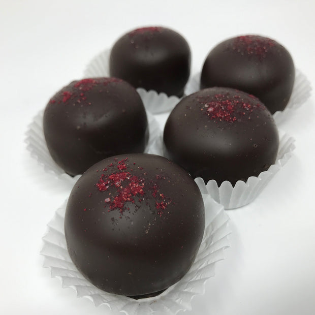 Dark Chocolate Merlot Truffles