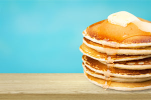 bo's best seven flavors of pancakes, including on that is a gluten-free pancake.