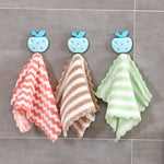 3Pcs Kitchen Cleaning Towel Multifunctional Rag Coral Velvet Dishwashing Cloth Household Kitchen Accessories Random Color