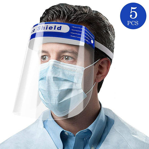 Safety Face Shields for Men, Resuable Dental Face Shield Cover, Anti Fog Anti Saliva and Protective