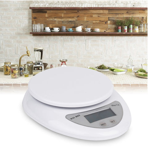 Hot 5kg 5000g/1g Digital Kitchen Scale Electronic Weighing Food Health Diet Measuring High Quality Precision Scale