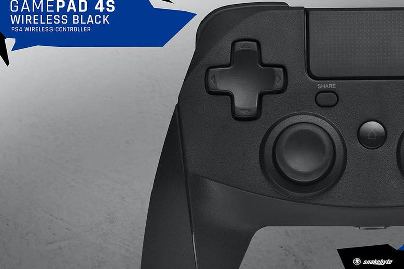 Snakebyte GamePad 4S Wireless Controller Black