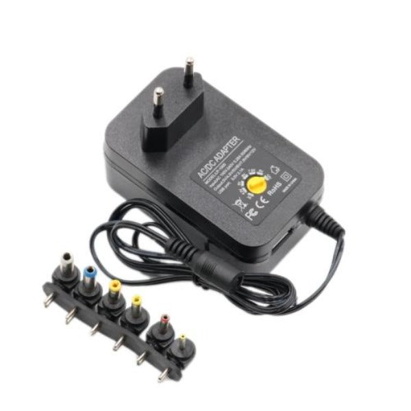 3V 4.5V 5V 6V 7.5V 9V 12V 2A 2.5A AC DC Adapter Adjustable Power Adapter Universal Charger Power Supply 30W
