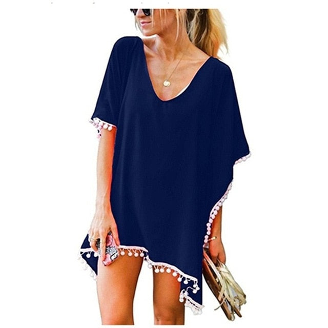 Caribbean Cover Up / Navy