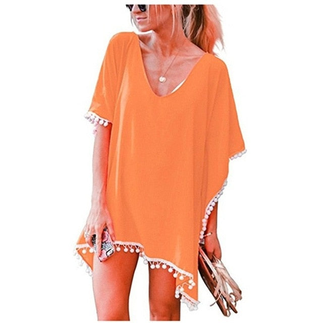Caribbean Cover Up / Orange