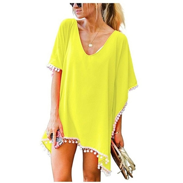 Caribbean Cover Up / Yellow