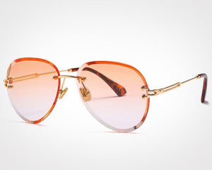 Soleil Sunglasses / Orange