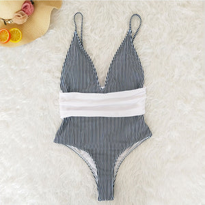 Tahuata Swimsuit / Stripe