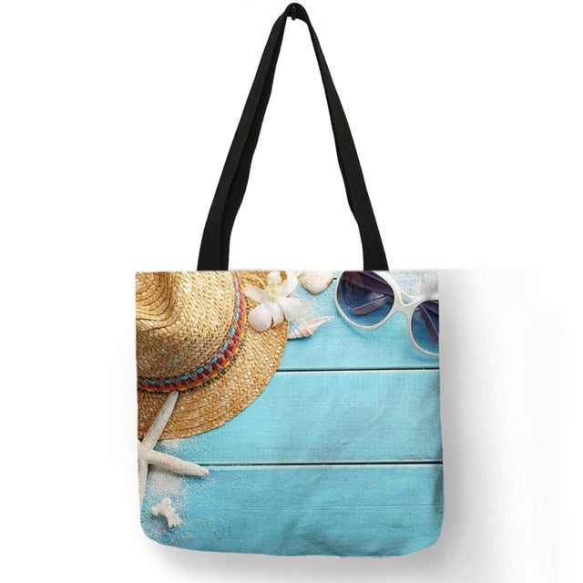 Sandy Shells Tote Bag