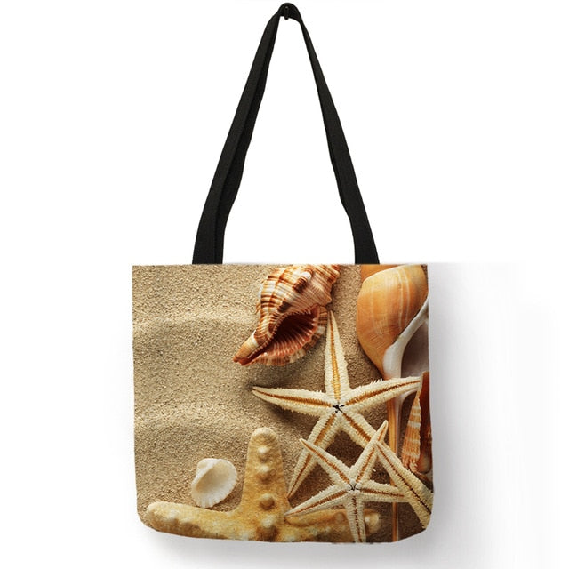 Sand & Seashells Tote Bag