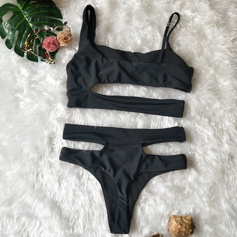 Petra Swimsuit / Black