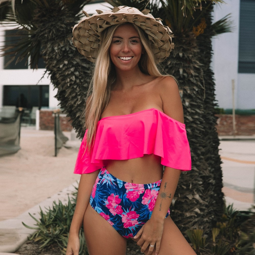 Cook Islands Swimsuit / Pink