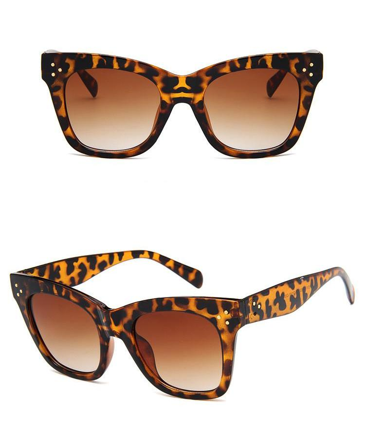 Cat Eye Sunglasses / Leopard
