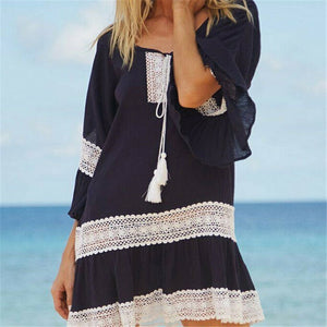 Sugar Beach Cover Up / Black