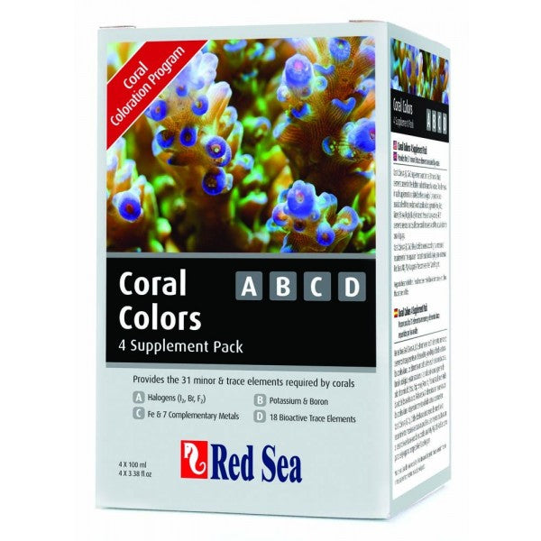Red Sea Coral Colors - ABCD