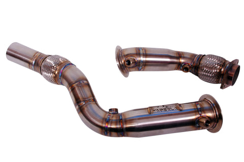 BMW M4 F8x Catless Downpipes
