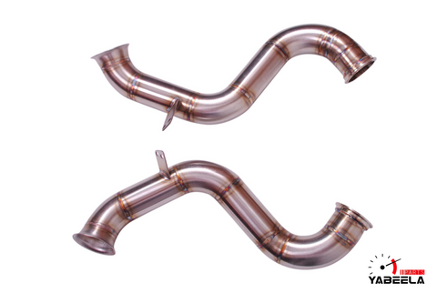 Mercedes-Benz W205 C63 Catless Downpipes