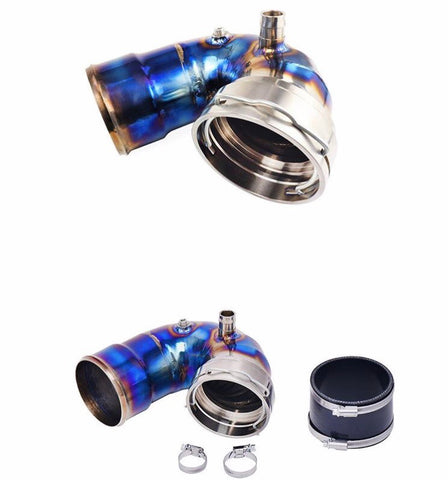Titanium Cooler Back Chargepipe with Meth Bungs