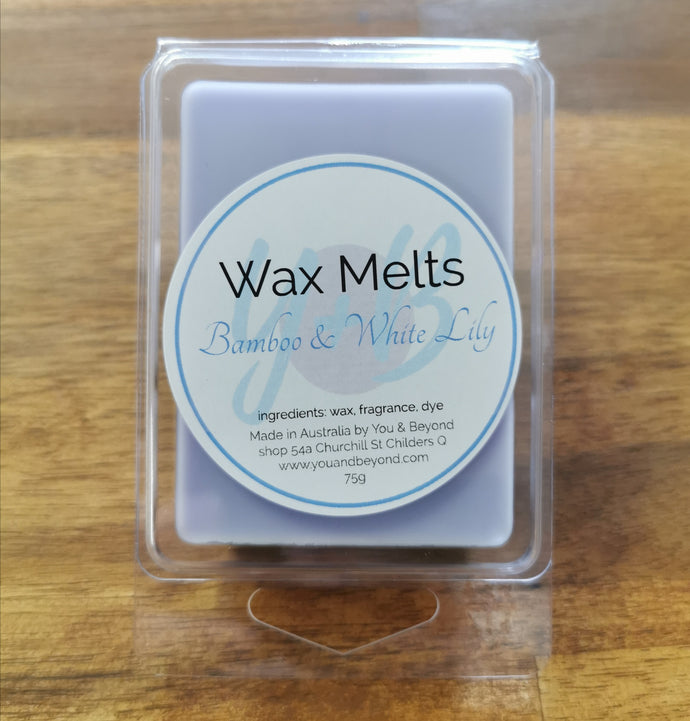 Bamboo & White Lily Wax Melts