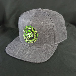 Dark Grey Patch Hat