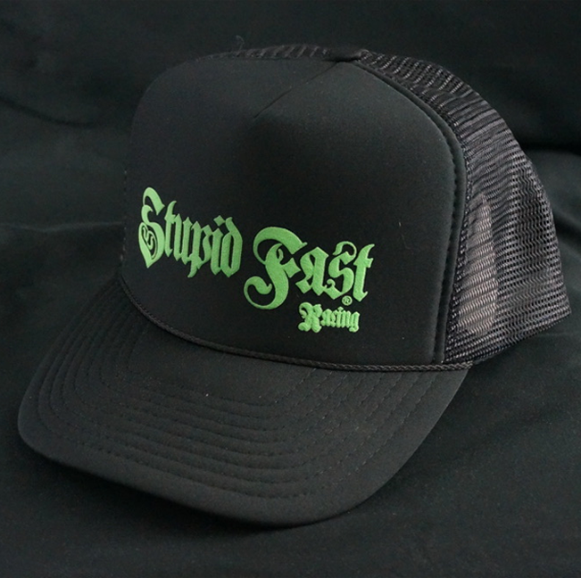 Black Foam Trucker Cap