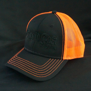 Black Out Orange Trucker