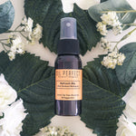 Feel instantly perked up with this organic multi-purpose spritz after an exercise or outdoor activity. A perfect recovery for those who need to calm & soothe their skin anytime. By Oil Perfect.