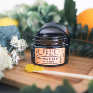 Blended with powerful, anti-ageing organic oils, this beautifully-scented, non-greasy face balm deeply nourishes and moisturises. By Oil Perfect.